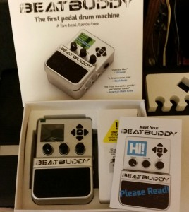 Beat Buddy Pedal Drum Machine