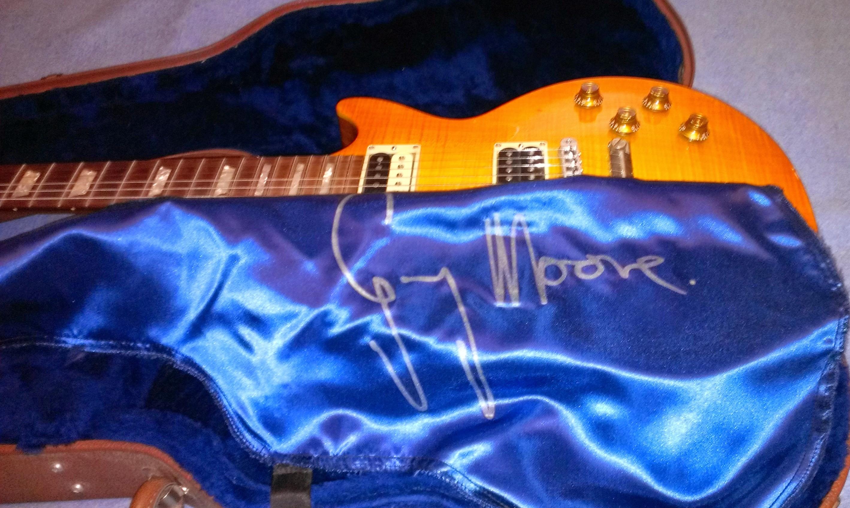 Gear joe 39 s guitar music - Gibson gary moore ...